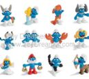 2010 Smurf figurines