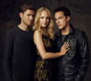 Klaus, Caroline, and Tyler