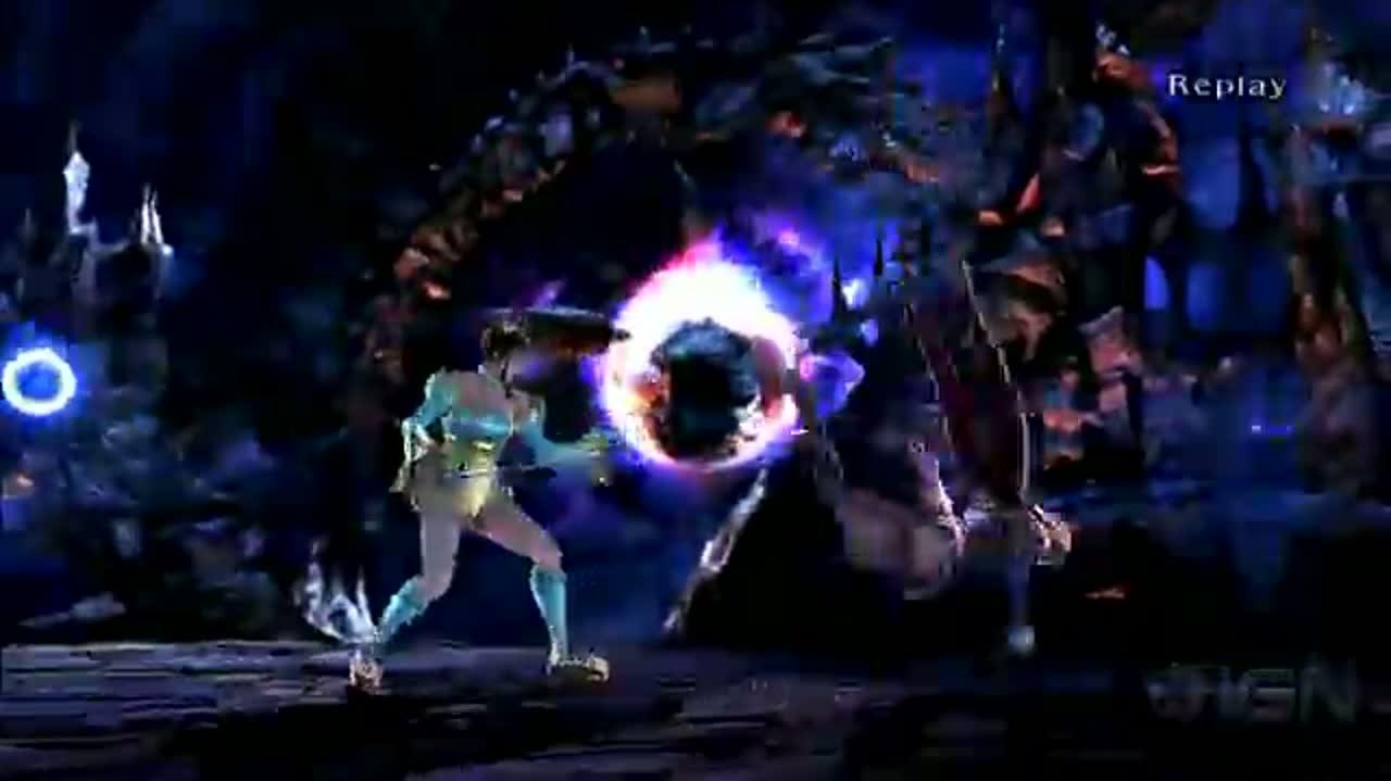 SoulCalibur V Viola and Leixia Fighting Clip