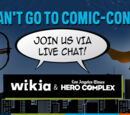 Ericmoro/Wikia Brings Comic-Con To You