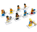 8909 Team GB Minifigures