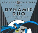 Batman: The Dynamic Duo Archives Vol 1