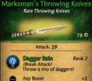 Marksman's Throwing Knives