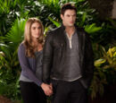 Emmett Cullen and Rosalie Hale