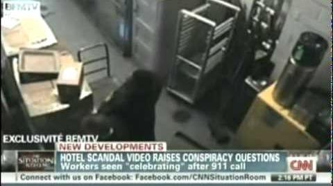 Hotel Security Camera Video Raises Questions About Strauss-Kahn Rape Accusations