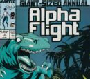 Alpha Flight Annual Vol 1 2