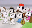 Snoopy's siblings