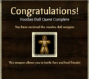 Weapon Unlock: Voodoo Doll