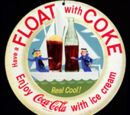 Coke® Peach Float