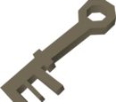 Tarnished key
