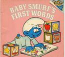 Baby Smurf's First Words