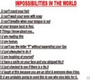 Jeminali/Impossibilities in the world...LOL