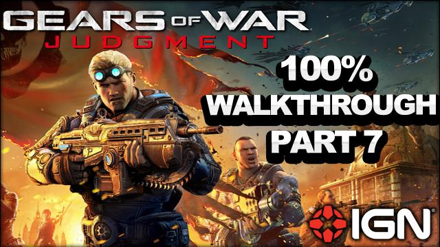 Gears of War Judgment Walkthrough - Archives - Declassified Mission and Cog Tag (Part 7)