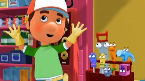 Handy Manny Manny's Green Team (2009) - Clip Manny goes solar, post
