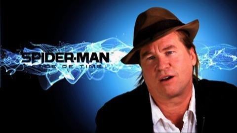 Spider-Man Edge of Time (VG) (2011) - Val Kilmer BTS