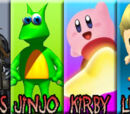 Big Boss vs Jinjo vs Kirby vs Lucas 2008