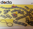 9176 DUPLO Train Track Package