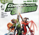Green Lantern: New Guardians/Covers