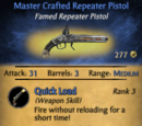 Master Crafted Repeater Pistol