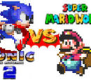 (5)Sonic the Hedgehog 2 vs (4)Super Mario World 2004