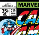 Captain America Vol 1 219
