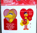 Sesame Street valentines (Drawing Board)