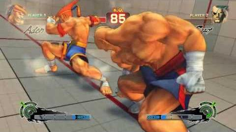 Super Street Fighter 4 - Adon Ultra 1 Jaguar Revolver