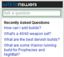 Forum:Wikianswers Widget