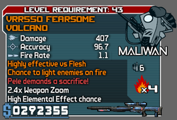 Borderlands 2 modded weapons that pass sanity check