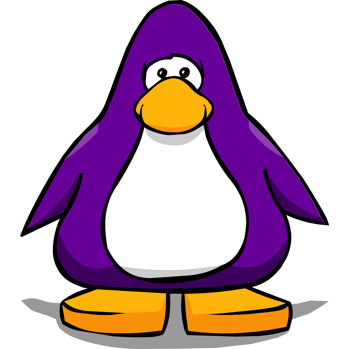 Club Penguin Getting Started Purple