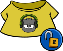 Green Dubstep Puffle Tee clothing icon ID 4932