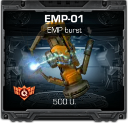 EMP-01 impulsion electromagnetico
