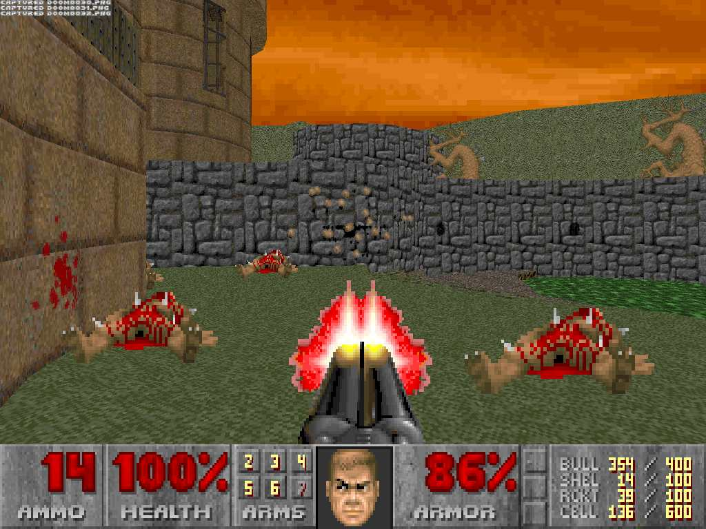 DooM 2, doom, The Plutonium experiment, zdoom, skulltag [1993/ENG]