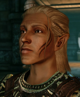 Dragon Age Origins Party Member Zevran