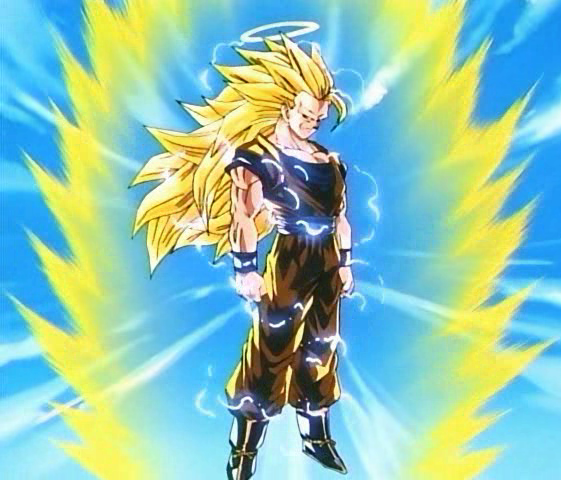 dragon ball z goku super saiyan 1000. Super Saiyan 3 is the