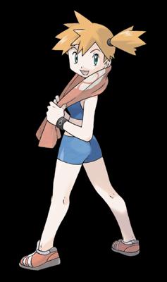 Coordinacion de Ligas y Eventos Pokemon Misty