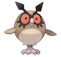 Se ha visto un Pokémon Salvaje: Hoothoot 200px-Hoothoot