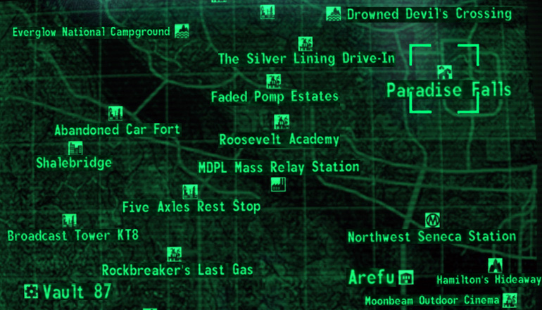 Ps3 Fallout 3 Schematics Locations Map - All Kind Of Wiring Diagrams •