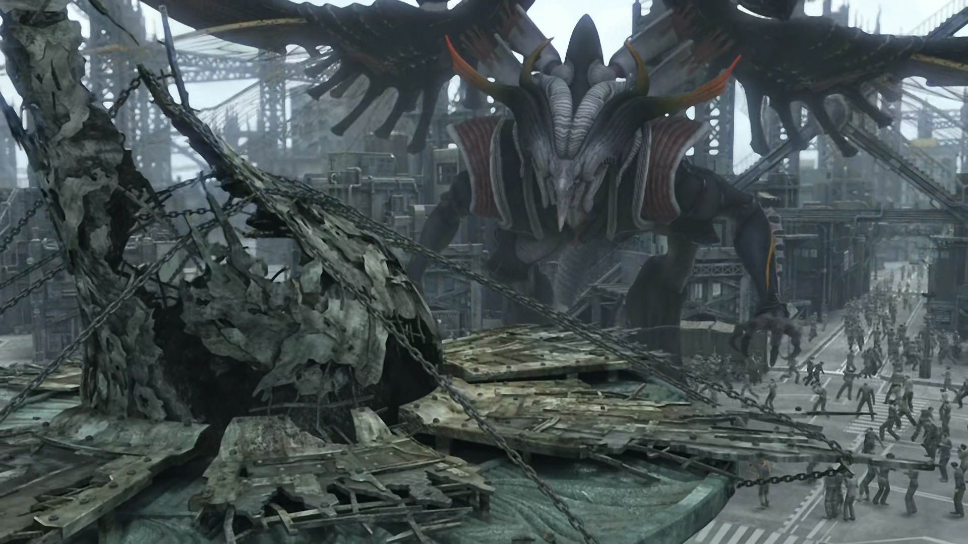 ff7 advent children bahamut - photo #8