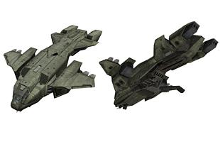 Aéronefs krypto-arkiliens Pelicandrop