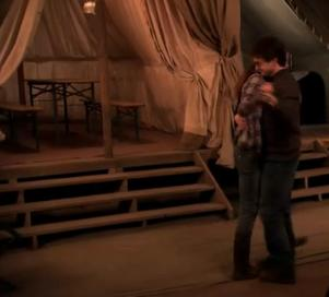 Harry and Hermione dancing