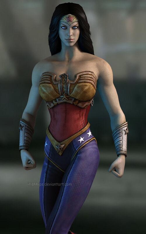 500px-Injustice wonder woman by irishhips-d67ko6w jpgRed Son Wonder Woman Injustice