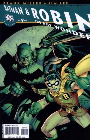 ALL STAR BATMAN & ROBIN BOY WONDER. Frank Miller & Jim Lee 300px-All-Star_Batman_and_Robin_9A