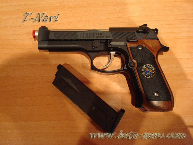 How to convert Beretta 92FS to a Samurai Edge from Resident Evil