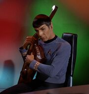 Spock on Lute