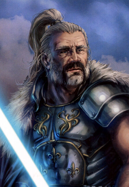 Lord Hoth, the character Drew enjoyed to write, was crucial to the Jedi in POD.