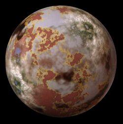The legendary planet of Anzat