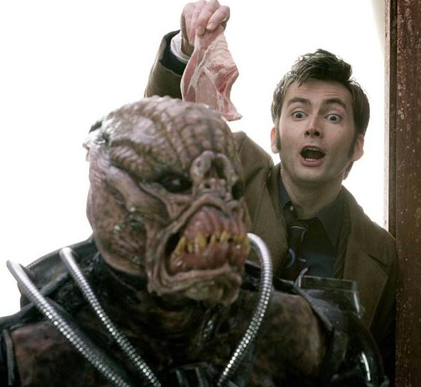A Hoix first appeared in Doctor Who Love And Monsters, one also appeared in
