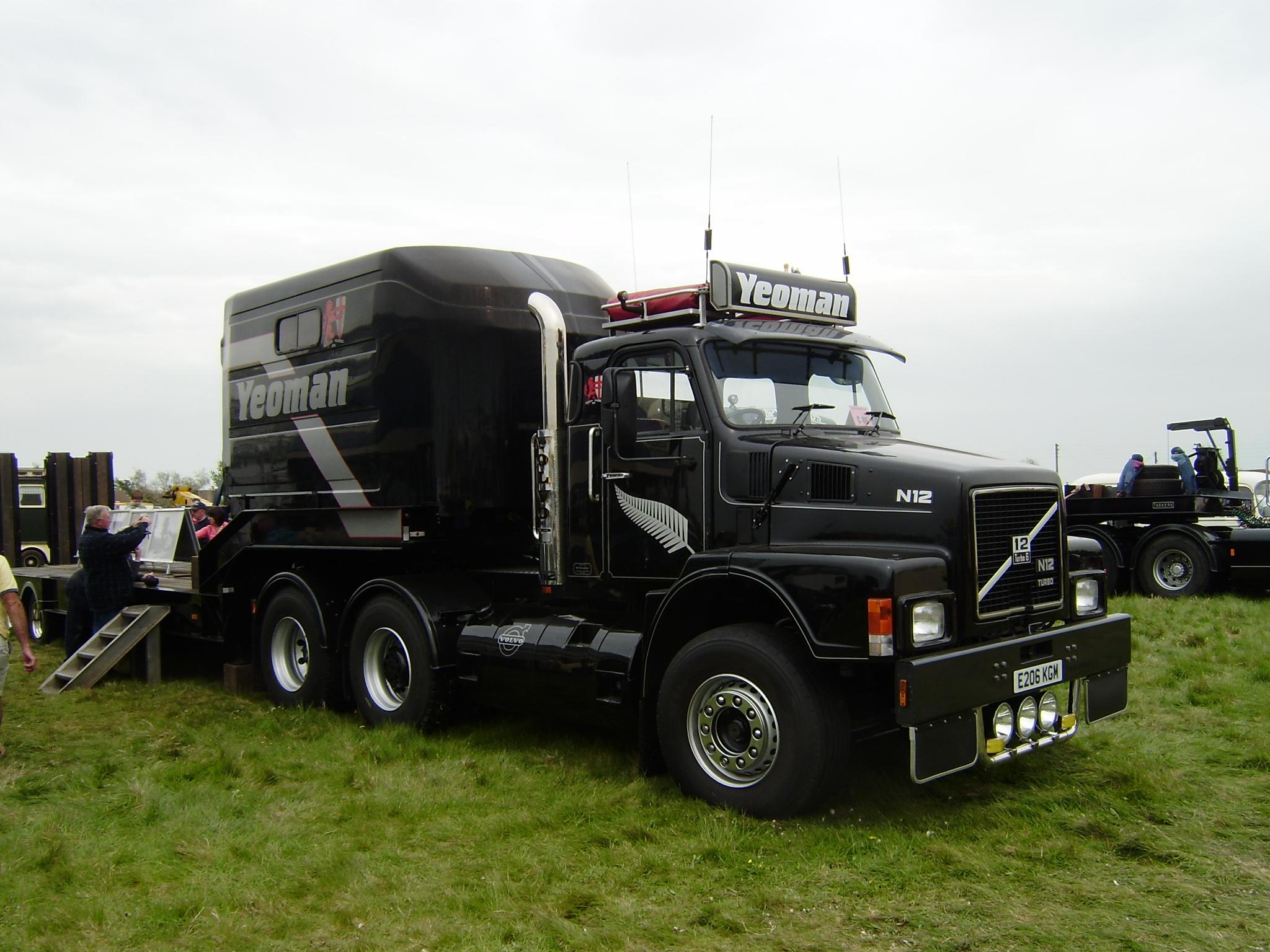 american volvo paper listing showrooms truck