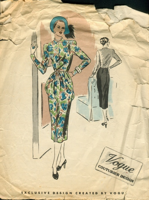 Vogue 335 - Vintage Sewing Patterns :  vintagepatterns peplum dress patterns